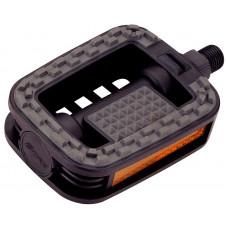 PEDALE FORCE 807 plastične ANTI-SLIP, crno-sive