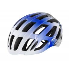 Kaciga FORCE HAWK, belo-plava L - XL