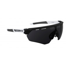 Naočare F ENIGMA crno-bele.,tamna stakla